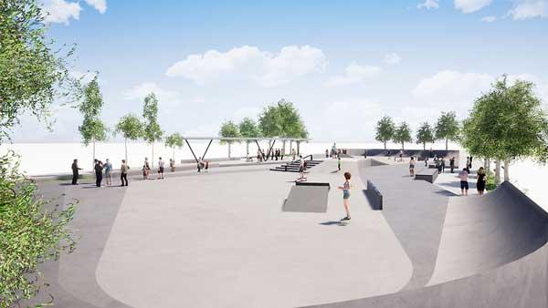 L'Ajuntament d'Ibi inicia la construcció d'un skatepark davant del Poliesportiu